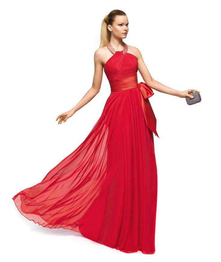 Pronovias apresenta o vestido de festa Zelanda da coleção 2014.   Pronovias