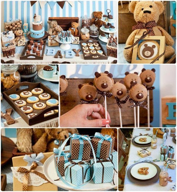 teddy bear baby boy shower themes | Teddy Bear Baby Shower - Baby Showers - Zimbio