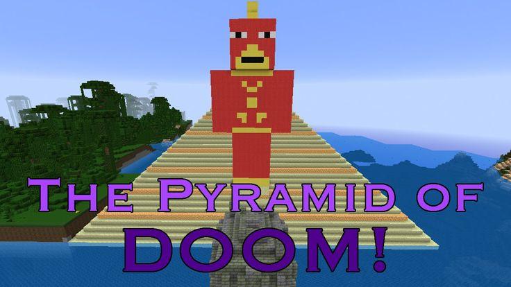 Minecraft Challenge - The Pyramid of DOOM!