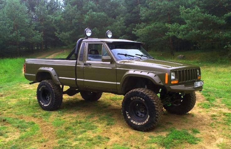 278 best images about Jeep Comanche MJ on Pinterest