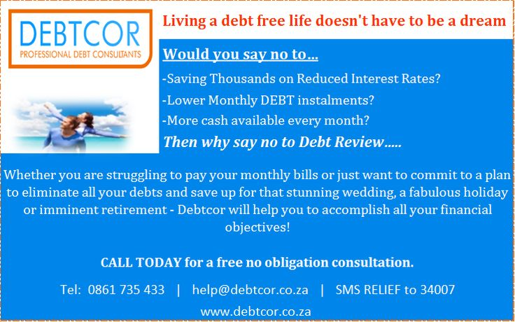 Why say no to Debt Review...?