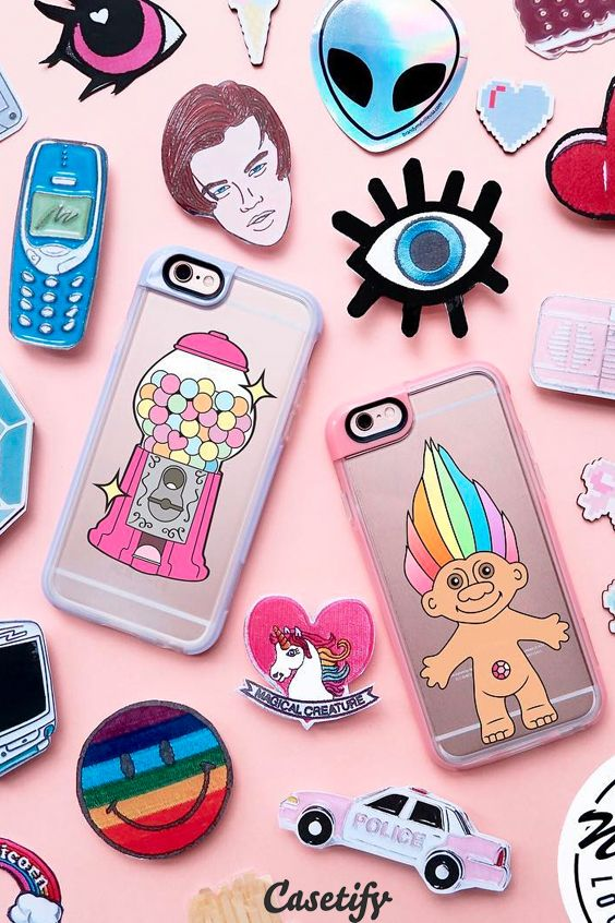 Click through to see more Throwback Thursday collection iPhone 6 phone case designs. Check out for our 90's cute pop art collection! >>> https://www.casetify.com/collections/throwback_thursday/ | @casetify