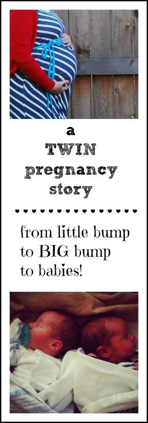 A twin pregnancy story - from belly shots to birth story!