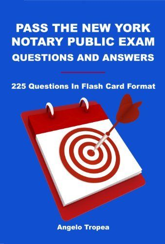 36 best notary public images on pinterest public facts and finance pass the new york notary public exam questions and answers by angelo tropea 664 publicscrutiny Image collections