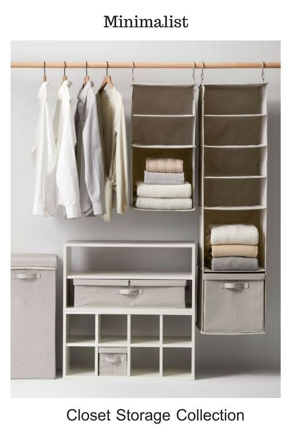 These Simple And Functional Closet Storage Collection Will Make