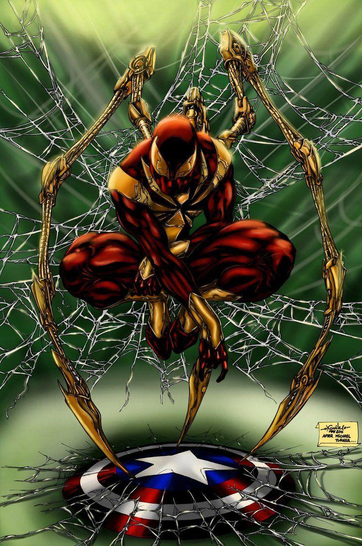 26 Best Iron Spider Images On Pinterest  Iron Spider