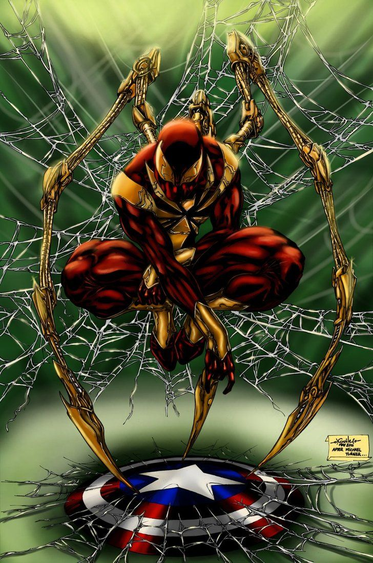 Iron Spider-man - my favorite Spider-Man costume.