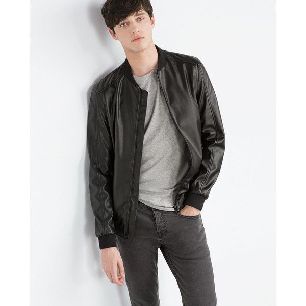 25  best Mens faux leather jacket ideas on Pinterest | Men's ...