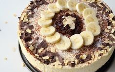Chocolicious Banana Kwarktaart recept   Dr. Oetker