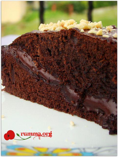 Muhallebisiyle pişen kek - rumma