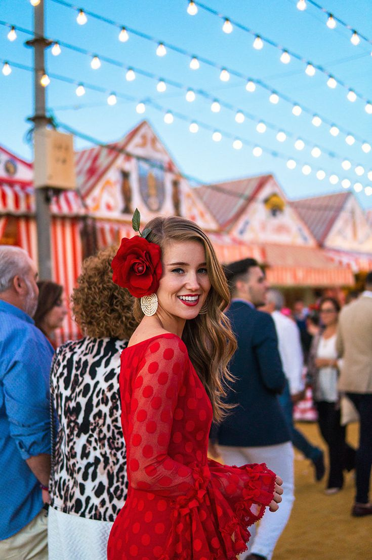 The Seville Fair | feria de abril | spanish inspired outfits | spanish inspired fashion | traditional spanish outfit ideas || a lonestar state of southern