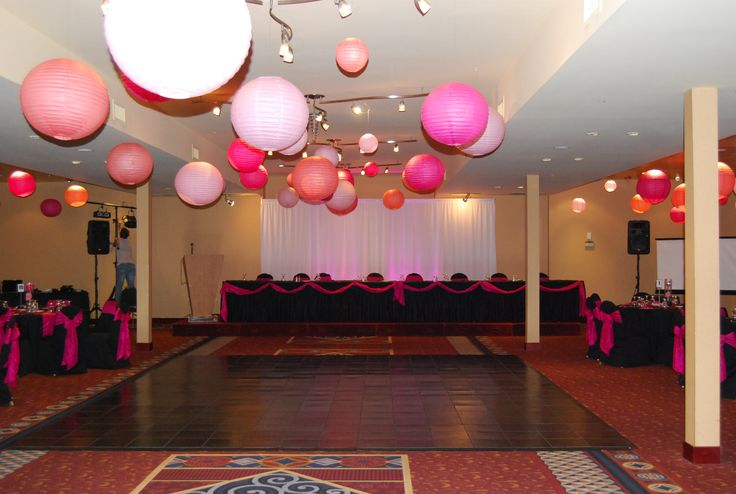 Edmonton Hotel and Convention Center - Grand Ballroom - VenueJar.com - The Grand Ballroom offers classic style seating for up to 450 people and features private washrooms, a registration desk, and if needed, a private gift opening room. A great space for weddings and parties.