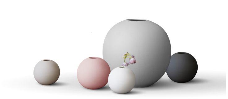 Cooee Ball Vase Vas   Olsson & Gerthel