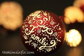 engraved and illuminated plastic ball ornaments how to, christmas decorations, crafts, seasonal holiday decor