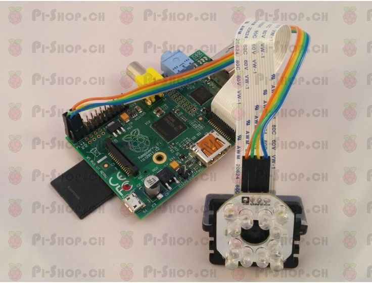 Pi Supply Bright Pi - Bright White und IR Kamera Licht für Raspberry Pi