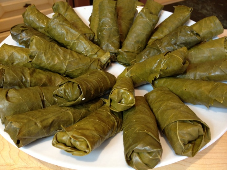 Mediterranean Dinner Party Ideas Part - 25: Vegetarian Rolled Grape Leaves Are A Classic Anchor To A #Mediterranean  Dinner Party!