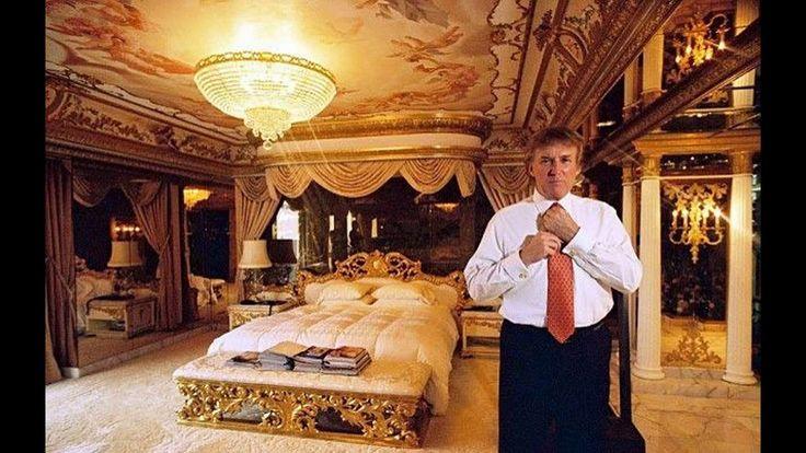 l interieur de La maison de Donald Trump plus belle que la Maison Blanch...