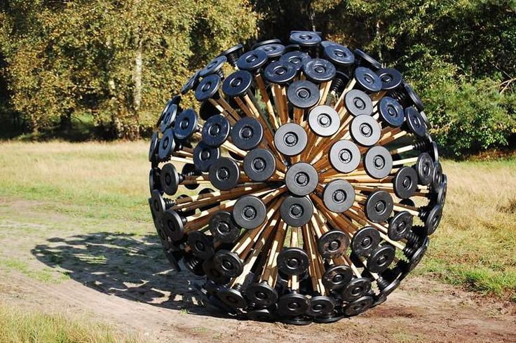 The Mine Kafon – Designed To Destroy Itself And The Landmine #clever