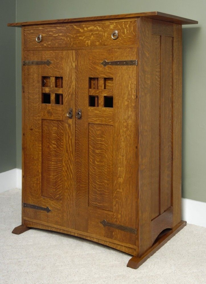 25 best ideas about craftsman furniture on pinterest for Craftsman cabinet plans