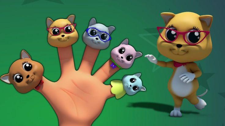 Gatinhos dedo família   3D berçário rima   canções para crianças   Kids ...É a família do dedo do gatinho que veio para baixo a sua pré-escola para ajudá-lo a aprender suas rimas de berçário favoritas e até mesmo ensinar-lhe algumas canções mais crianças para cantar para seus amigos de berçário no jardim de infância. Então prepare-se para meow tão alto quanto você pode! #FarmeesPortugues #Crianças #Kittensfingerfamily #kittensfamily #Préescolares #nurseryrhymes #educacional #kidsvideos…