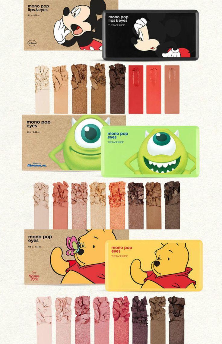 The Face Shop X Disney (collaboration) - Mono Pop Eyes
