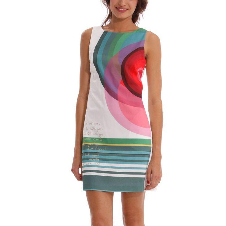 Vestido primavera-verano Desigual 2014  79€ -15% 67,15€  #Spring #elplanetadelasmarcas.es #welovefashion #vestido #dress #casualstyle #desigual #cuba #mujer