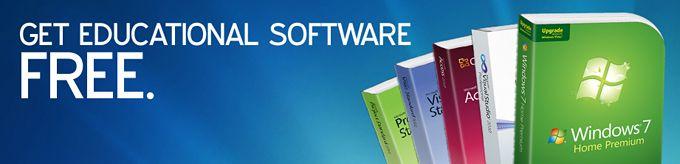 DreamSpark, Get Educational Software FREE.