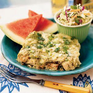 Chicken Chilaquiles | MyRecipes.com