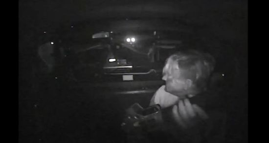 An onboard video cam of the Garden Grove Police Department reveals the need for an officer safety alert. The police agency discovered that the locking mechanism of the Plexiglas partition in a patrol car failed on Feb. 13, allowing a man in the car's backseat to access a semi-automatic rifle.