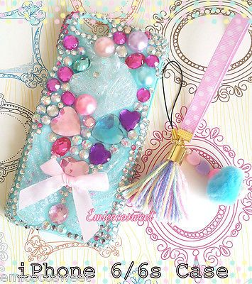 iPhone6 6s,Unicorn Resin Phone Case,iPhone,Decoden Case,Kawaii Phone Case