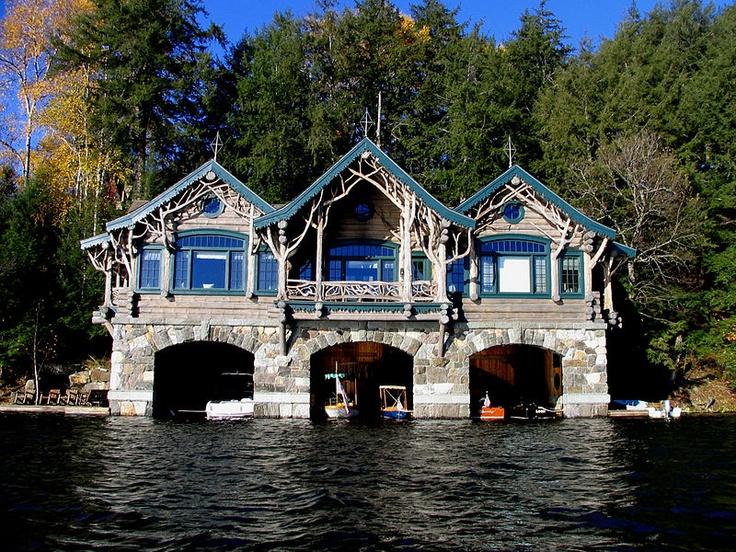 boathouse perfect need: Lakes House, Camps Topridg, Adirondack Mountain, Dreams House, Boats House, Future House, New York, Lakes Living, Boats Dock