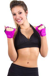 Dy Moda Fitness e Acessorios: LUVA PARA ACADEMIA UNISSEX NEOPRENE