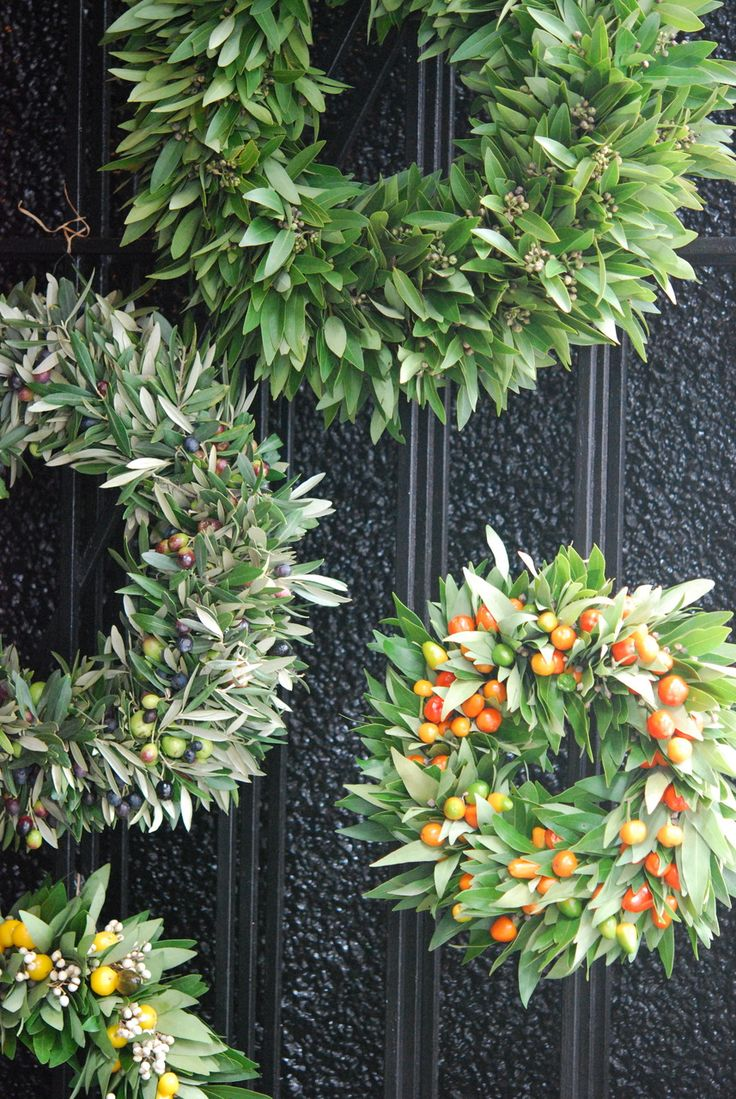 Olive wreaths