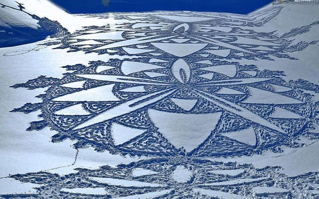 Simon Beck's Snow Art Design Inspiration