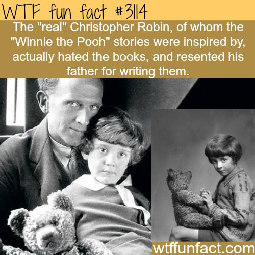 The real Christopher Robin of Winnie the Pooh - WTF? weird, not-so-fun facts
