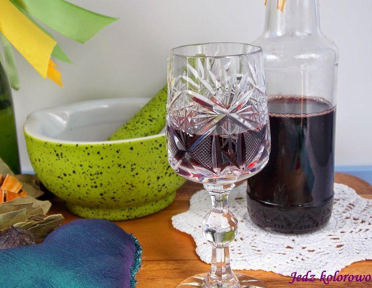 Jedz kolorowo: Wino / nalewka rozmarynowa na bezsenność, wzmocnie...