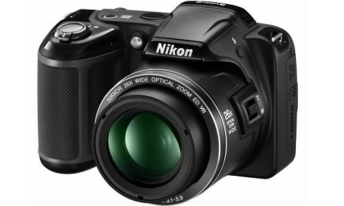 Nikon Coolpix 810, a 3 inch LCD point and shoot camera