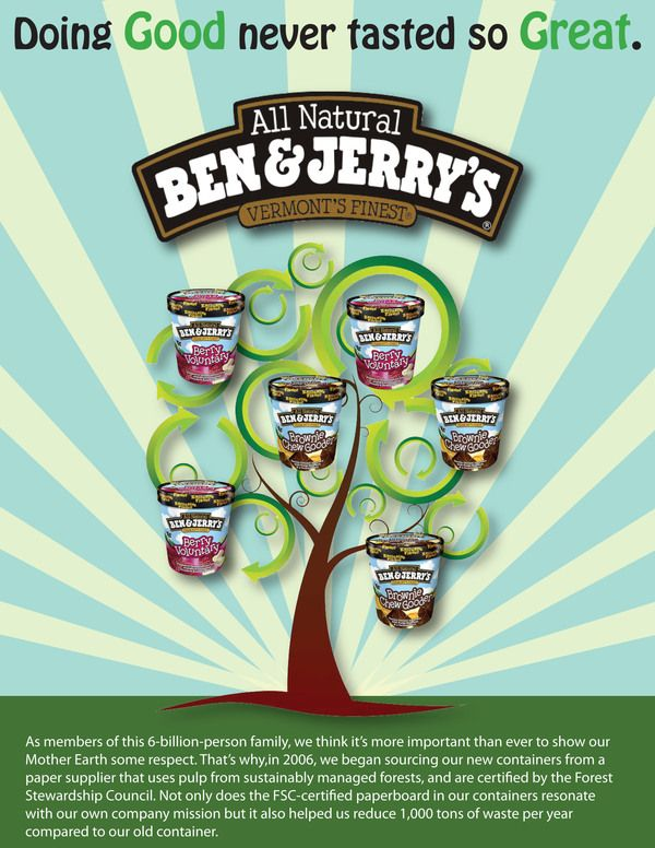 being green at ben and jerry s Walt freese, the appropriately named former head of the do-gooder ice-cream company, dishes on the importance of a values-driven work life, the significance of being authentic and how employee engagement got ben & jerry's back on track.