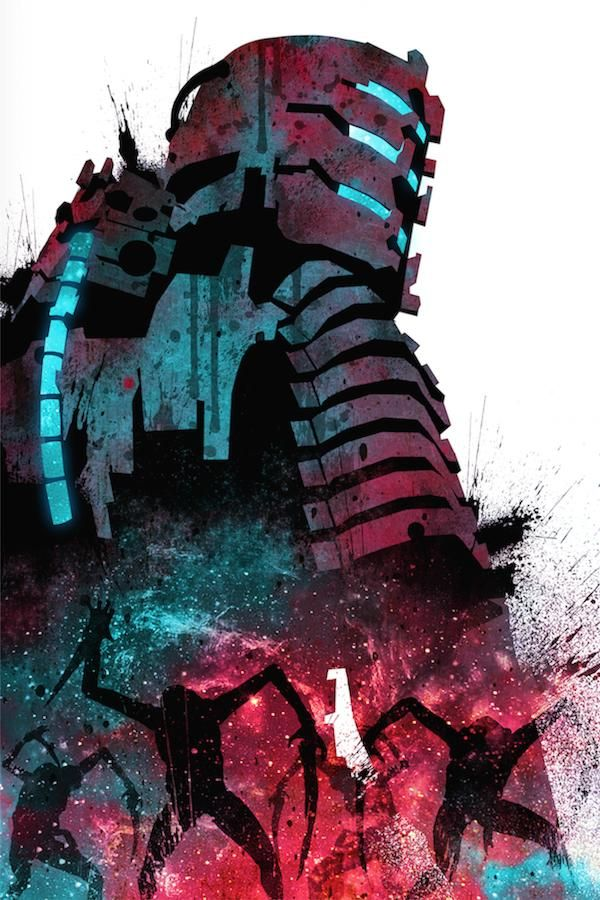 by request, here's my Dead Space art!