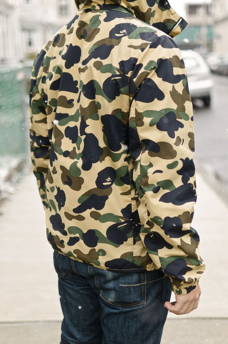 Bathing Ape Camo