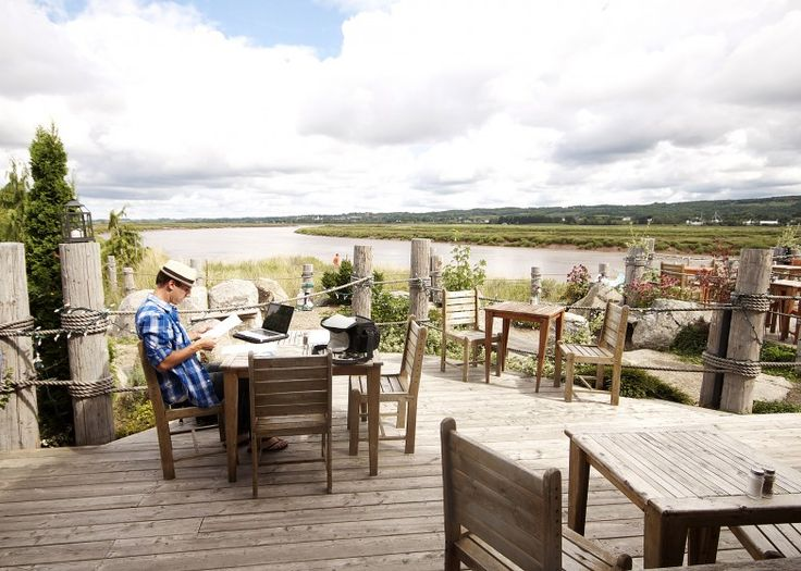 The Port Beautiful Balcony Annaolis Valley Nova Scotia