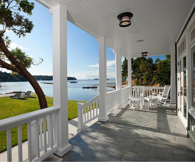 17 best images about front porch on pinterest beautiful for Covered porch flooring options