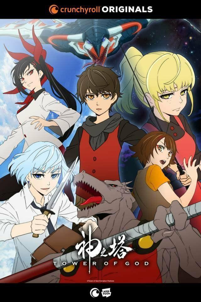 Tower of god Anime di 2020 Fantasi gelap, Manhwa, Webtoon