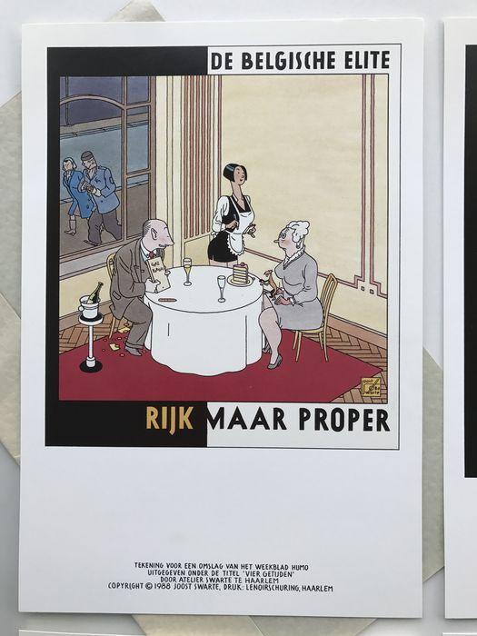 Swarte, Joost - Diverse grafiek + set telefoonkaarten - (1987/1992) - Catawiki