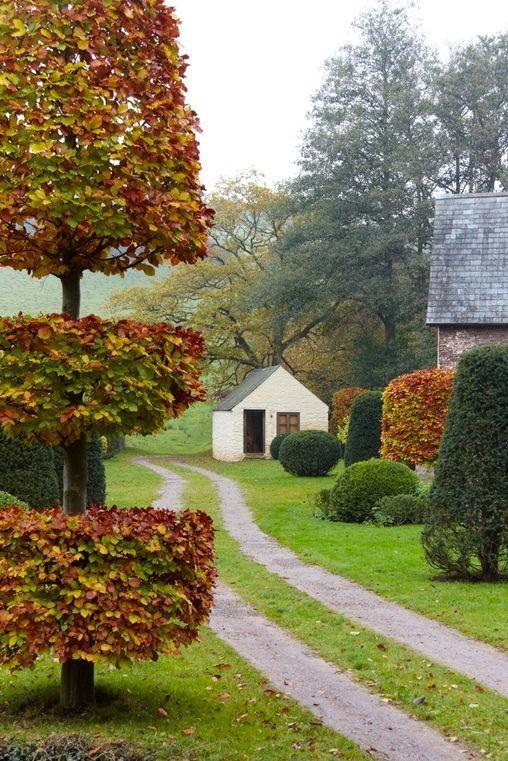 Arne Maynard, garden in Wales