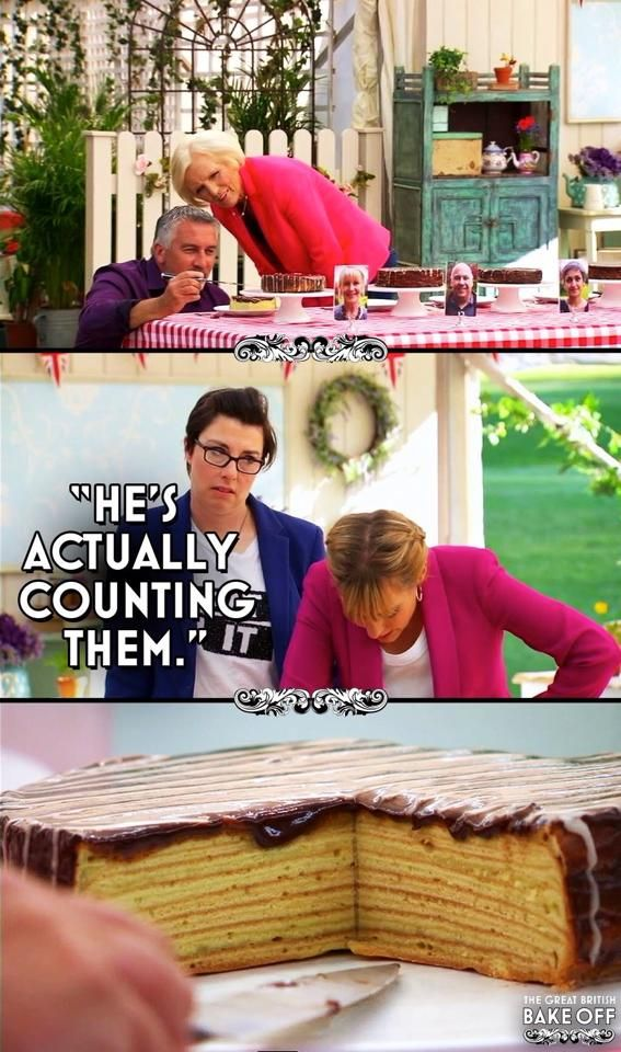 Really Paul? Really? #gbbo #funny #baking