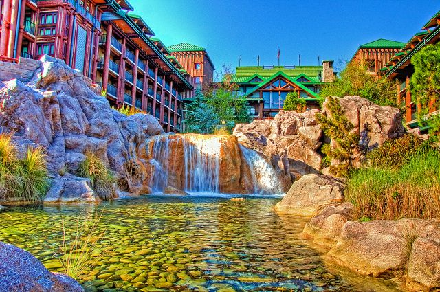 Walt Disney World - Disney Resorts - Wilderness Lodge