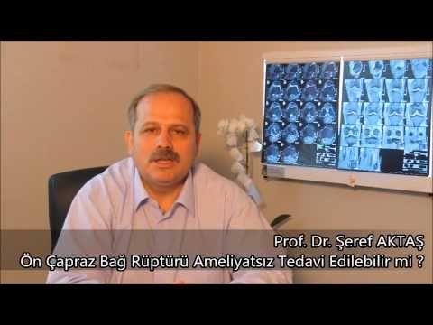 Ortopedi, Diz Cerrahisi, Ön Çapraz Bağ Rüptürü Ameliyatsız Tedavi Edileb...