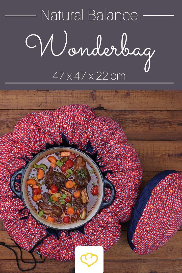 Das ideale Geschenk für umweltbewusste Foodies! Garen ohne Energie ? Das geht doch gar nicht? Doch! Mit dem Wonderbag aus Südafrika kannst du Speisen bis zu 6 Stunden besonders schonend garen und bis zu 12 Stunden warmhalten.