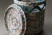 Фото 13 Плетение корзин из газетных трубочек: осваиваем модное рукоделие (54 фото)
